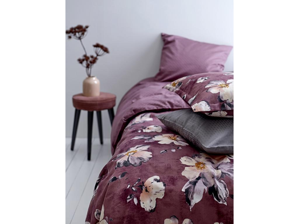 sødahl sengetøj 140x220 Sengetøj Sødahl Vintage Bloom Dusty Berry 140x220 cm sødahl sengetøj 140x220