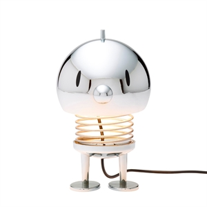 Hoptimist Bordlampe Stor Chrome